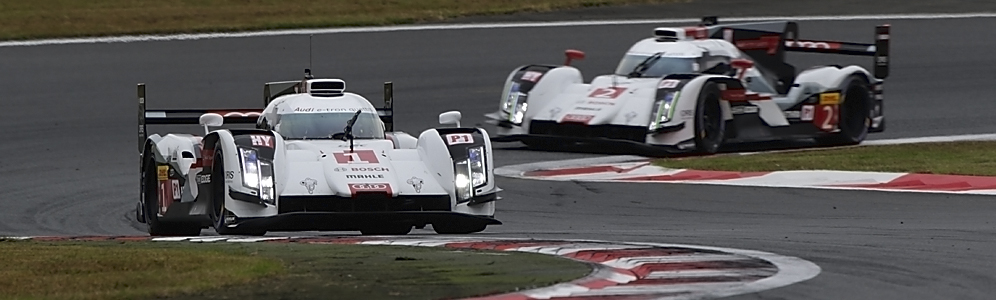 Podium positions for two Audi privateers