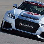 Drei Audi R18 e-tron quattro in Le Mans