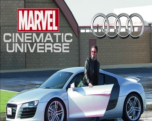 Audi in the Marvel Cinematic Universe (MCU) Movies